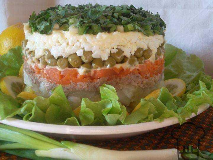 Печень трески салаты