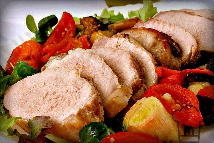 Мясное блюдо рецепт