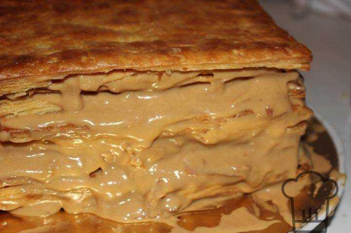 Слоеное тесто со сгущенкой рецепт пошагово в домашних условиях