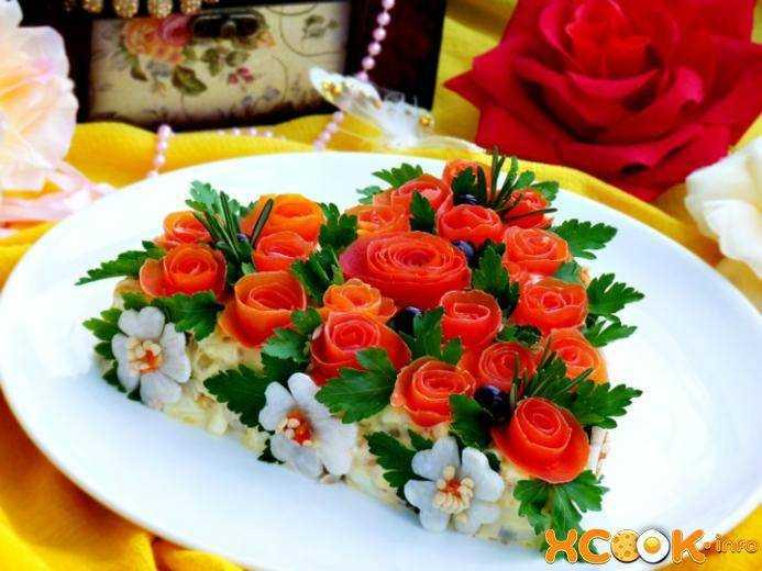 салаты красивые и вкусные с фото