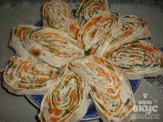 Закуски из лаваша с сыром рецепты с пошагово