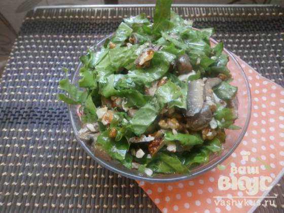 Интересные салатики рецепт и фото