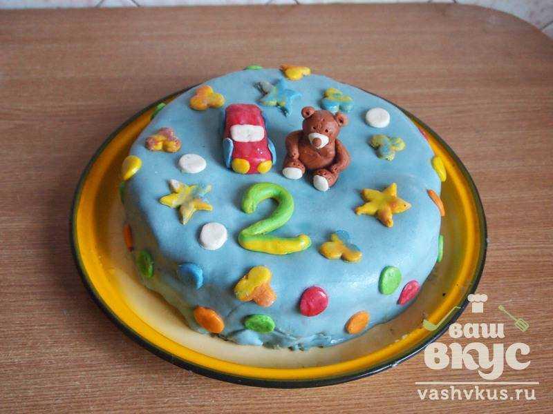 рецепт торта прикрашений мастикою