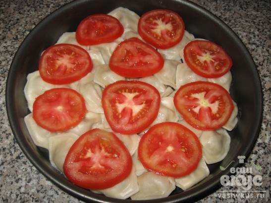 Рецепт вареники с помидорами