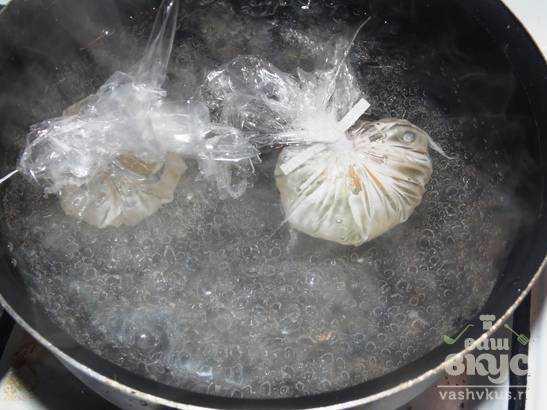 Яйцо пашот в пленке рецепт пошагово в