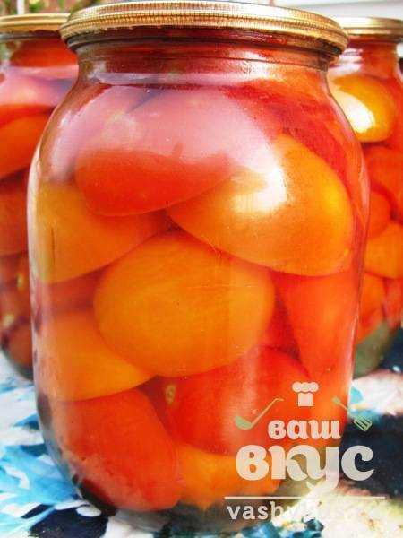 Рецепт помидоры дольки маринованные с фото