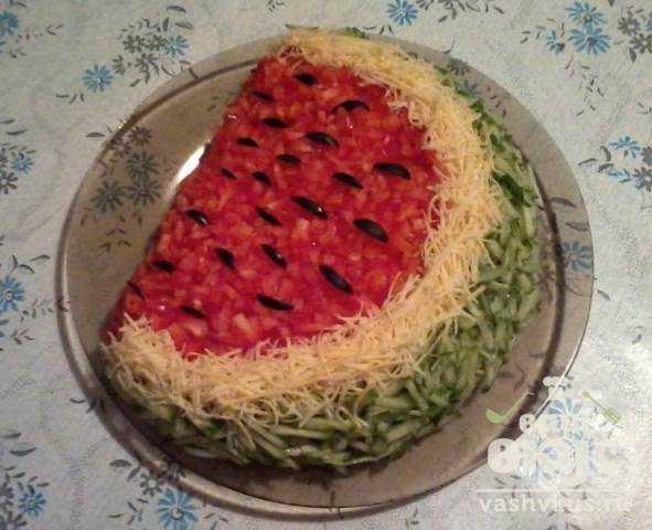 Оригинальный салат рецепт с фото пошагово