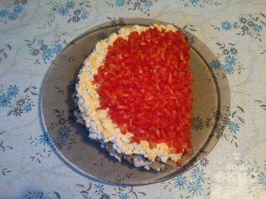 Рецепт салата долька арбуза с фото пошагово