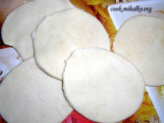 Тесто на вареники с картошкой и грибами рецепт