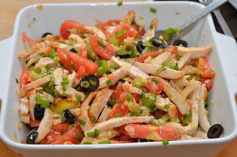 Рецепты салатов с простые и вкусные без курицы