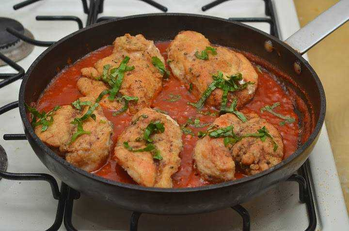 Филе томатном соусе рецепт с фото