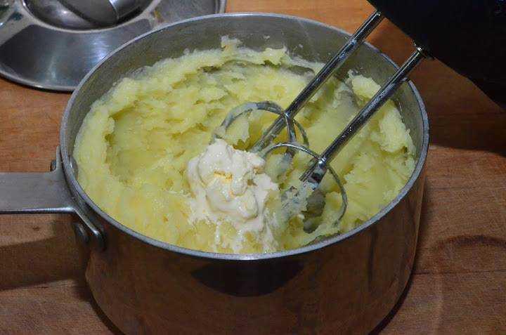 Вкусное пюре из картофеля рецепт с фото