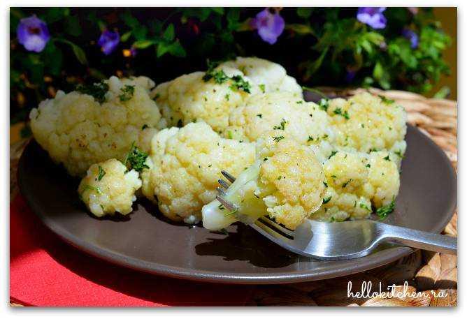 блюда с цветной капустой рецепт