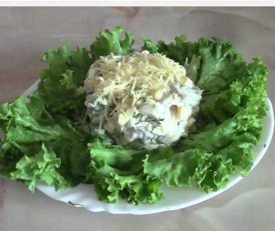 Рецепты салата из куриного филе с