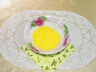салат гнездо дрозда рецепт