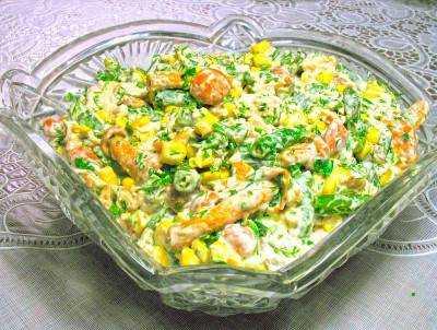 Коллекцию салатных рецептов с фото