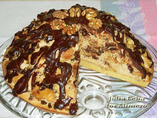 Пинчер торт рецепт с фото на кефире