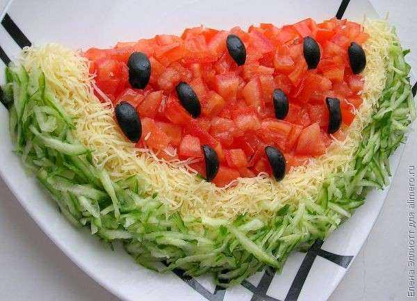 Украшение салатов с рецептами и фото