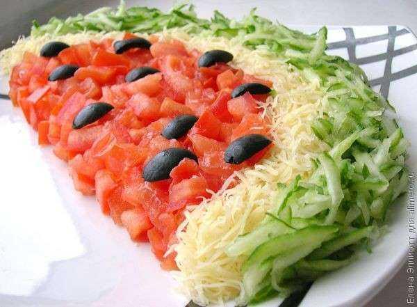 Новые рецепты салатов с фото бесплатно