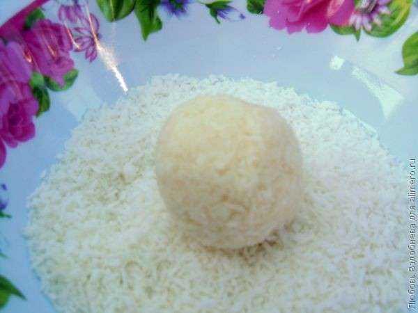 рафаэлло с творогом пошаговый рецепт фото